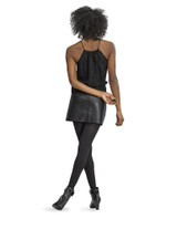 Antimicrobial Rib Tight with Control Top, Black