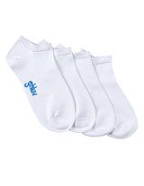 Women's Antimicrobial Home Sock 2pk, White