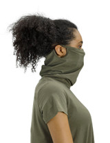 Perfect Protect Short Sleeve Mask Tee, Olive