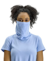 Perfect Protect Short Sleeve Mask Tee, Grape Mist
