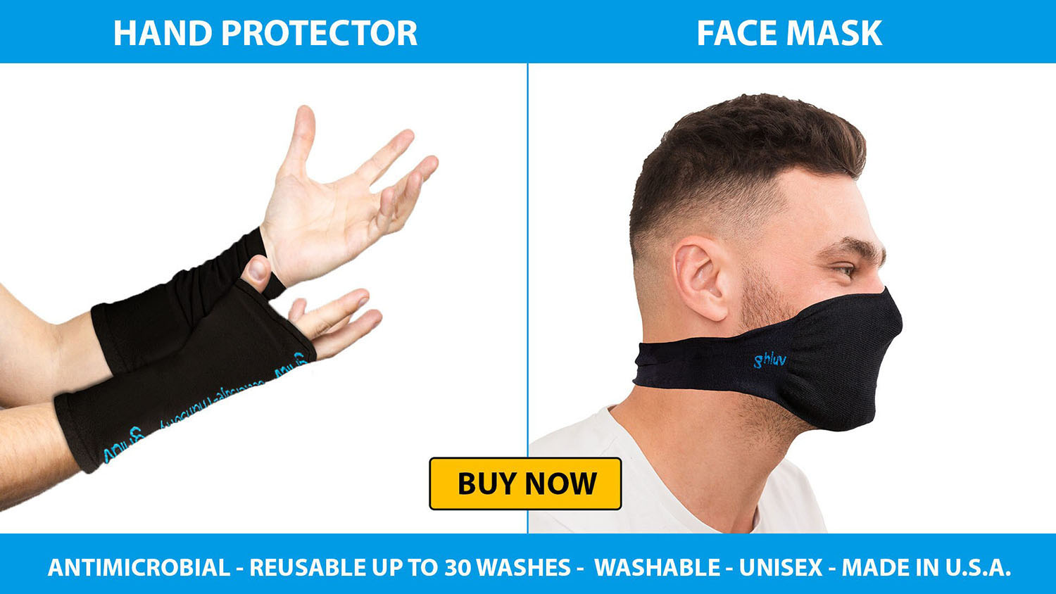Hand Protector and Facemask for men