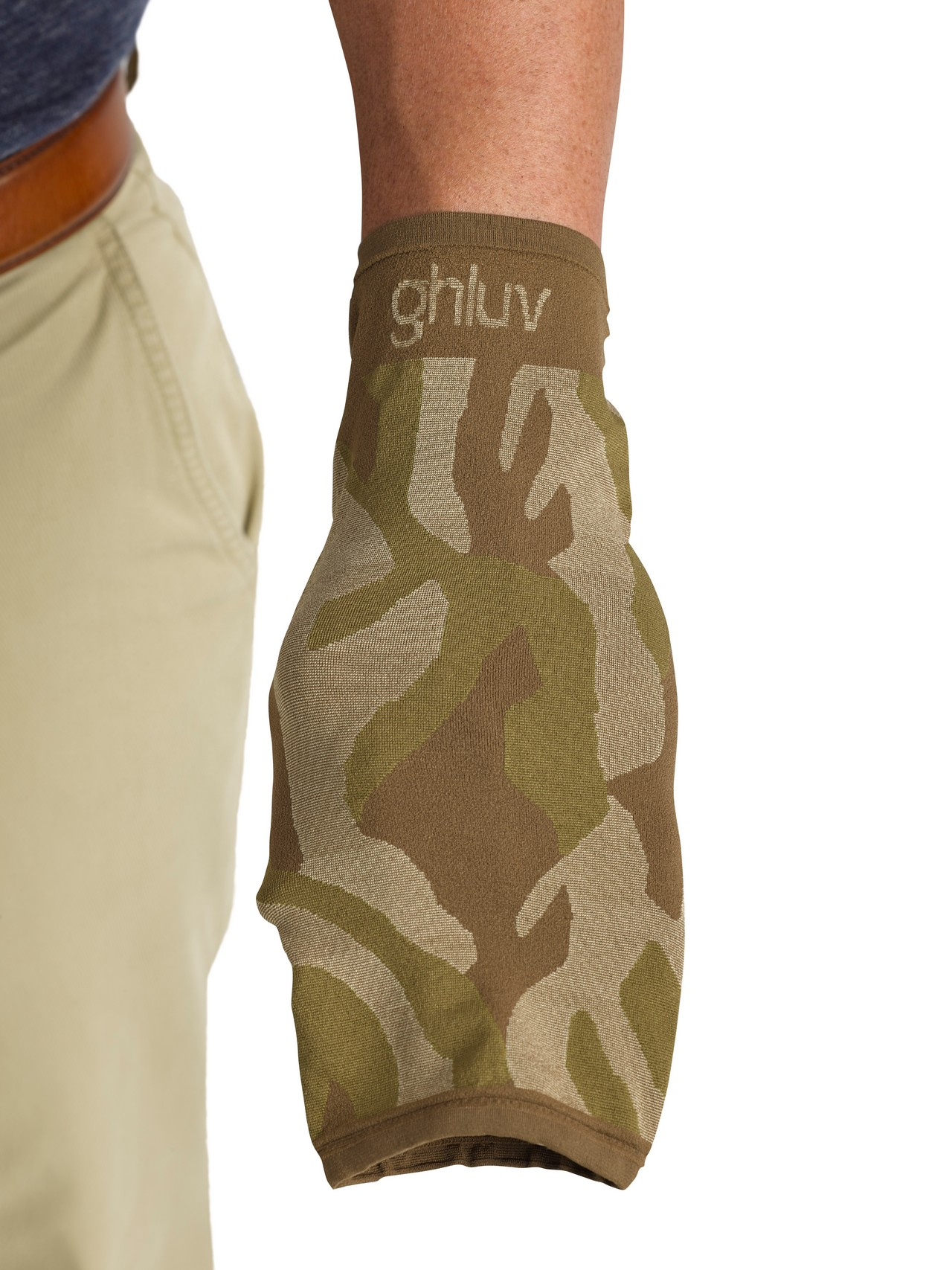 Ghluv Fashion Antimicrobial Hand Protector (one pair), Camo