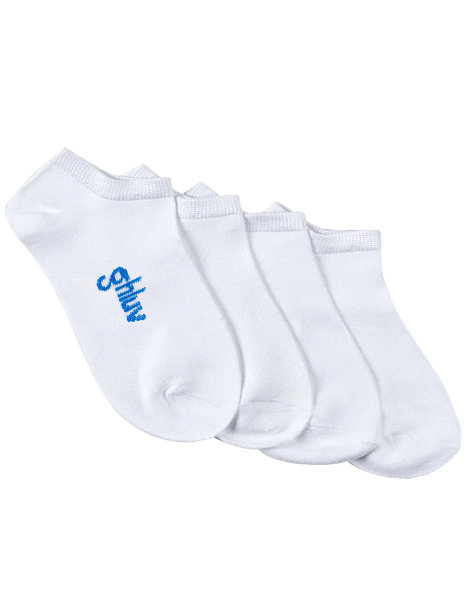 Youth Antimicrobial Home Sock 2pk, White