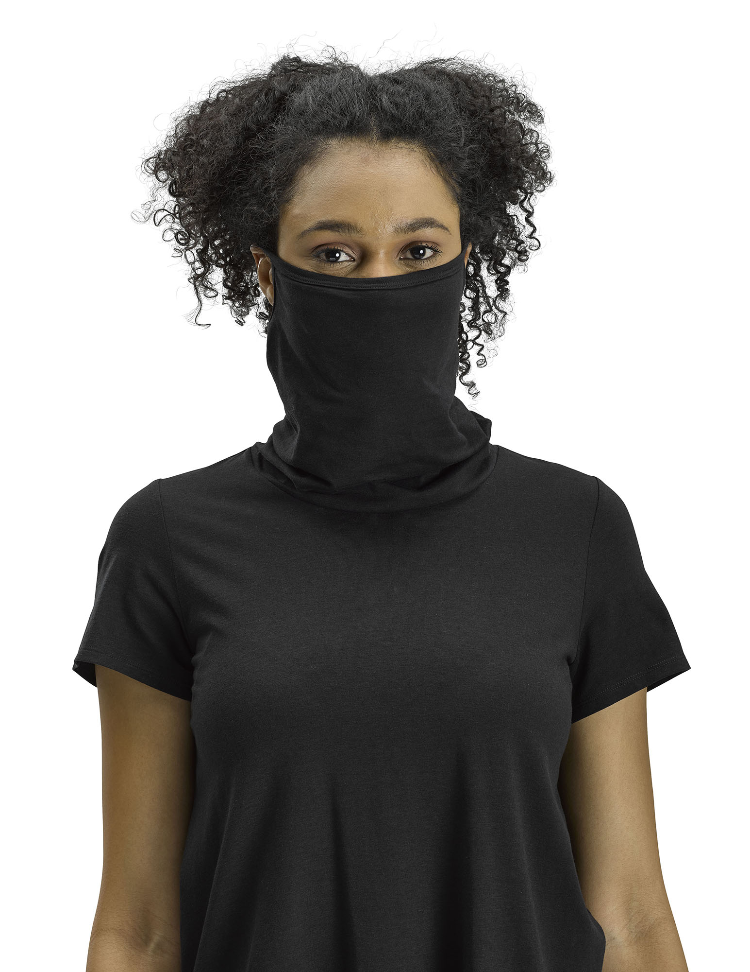 Perfect Protect Short Sleeve Mask Tee, Black