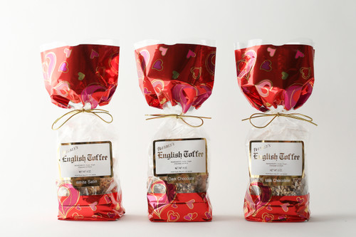 Valentine's 1/2 pounds of English Toffee