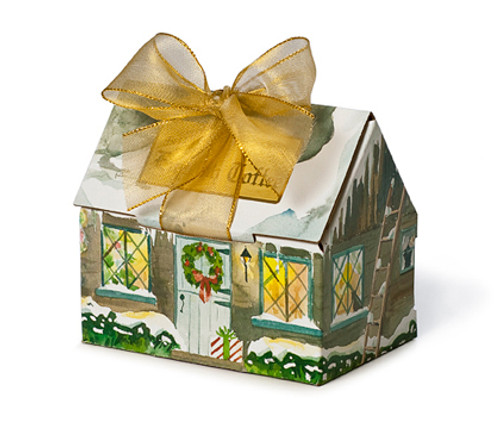 Christmas House - Dark Chocolate Toffee