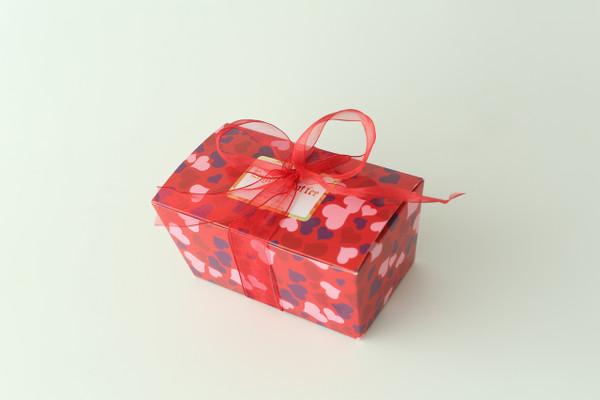 1 lb. Valentine's Gift Box - Dark Chocolate Toffee