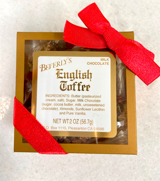 Party Favor - Milk Chocolate Gold Box (2 oz)