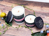 How to use Mia Bella Scent Co, dual wood wick candles