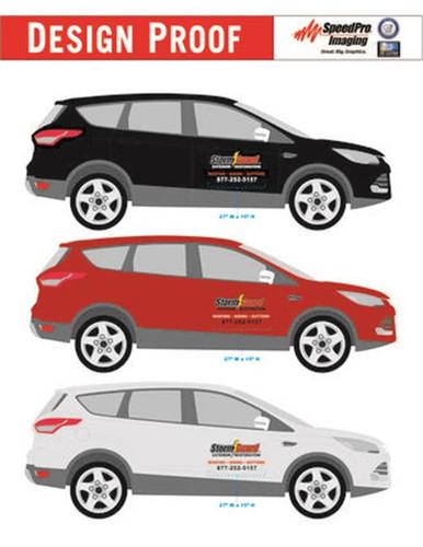 Sales Car Decal Kit