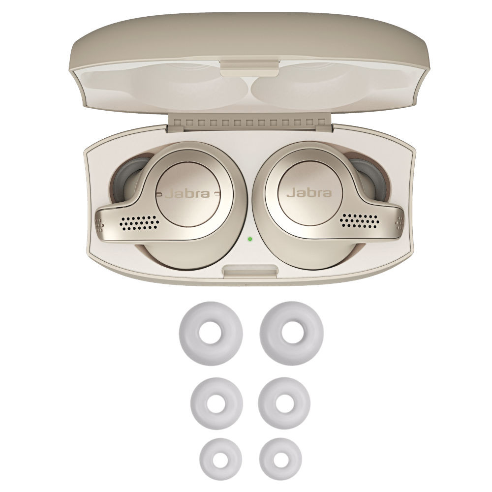 Jabra Elite 65t True Wireless Earbuds (Gold Beige)