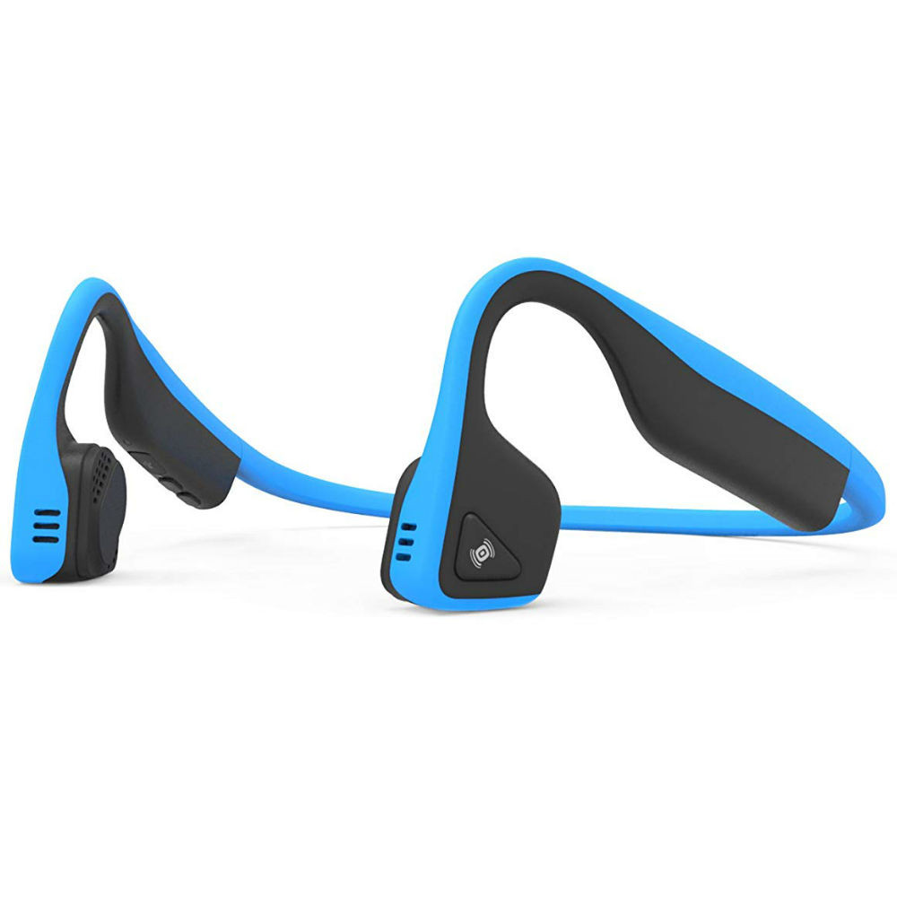 Aftershokz Trekz Titanium Wireless Bone Conduction Headphones (Ocean Blue)