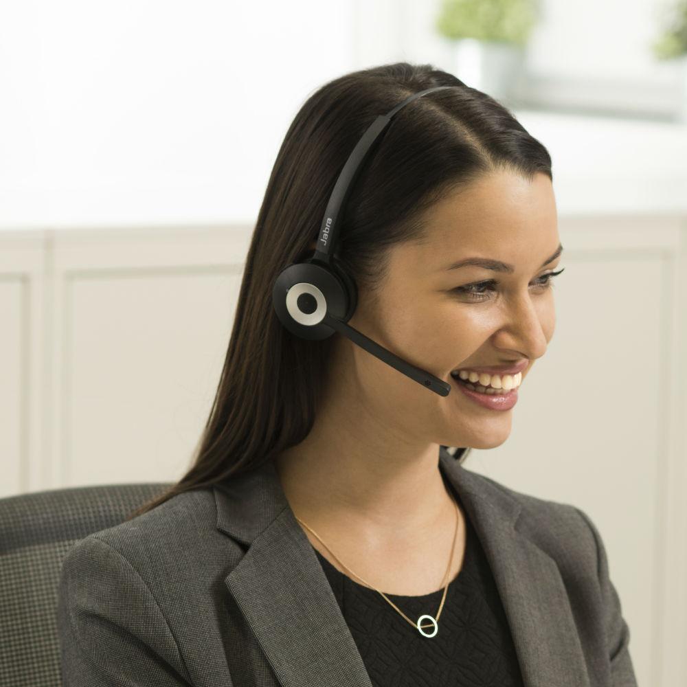 Jabra Pro 930 UC Duo Wireless Headset (Black)