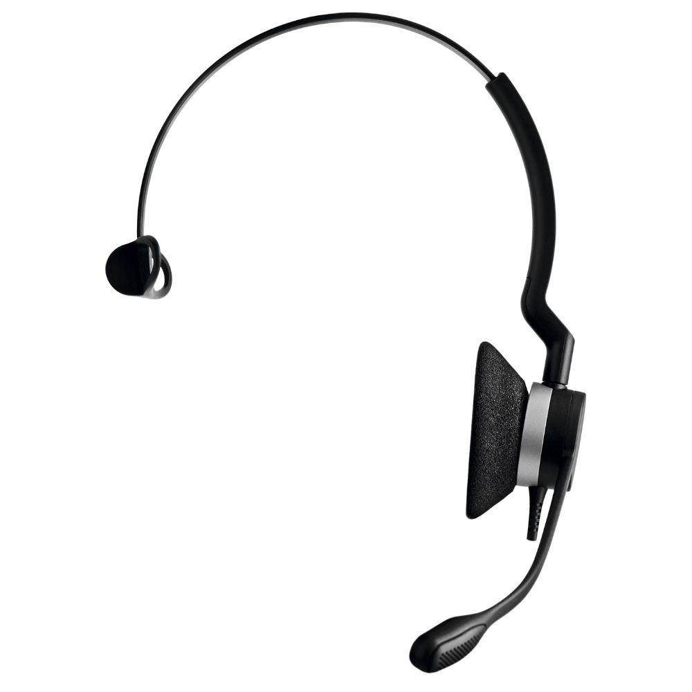 Jabra Biz 2300 MS Mono QD Quick Disconnect Headset (Black)