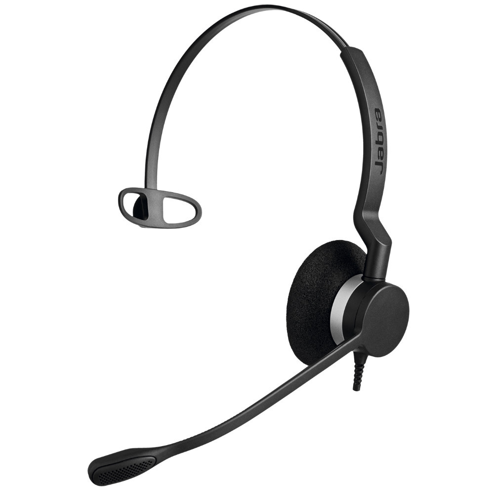 Jabra Biz 2300 MS Mono USB-C Headset (Black)