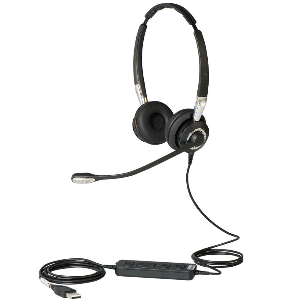 Jabra Biz 2400 II USB Duo CC MS Office Headset