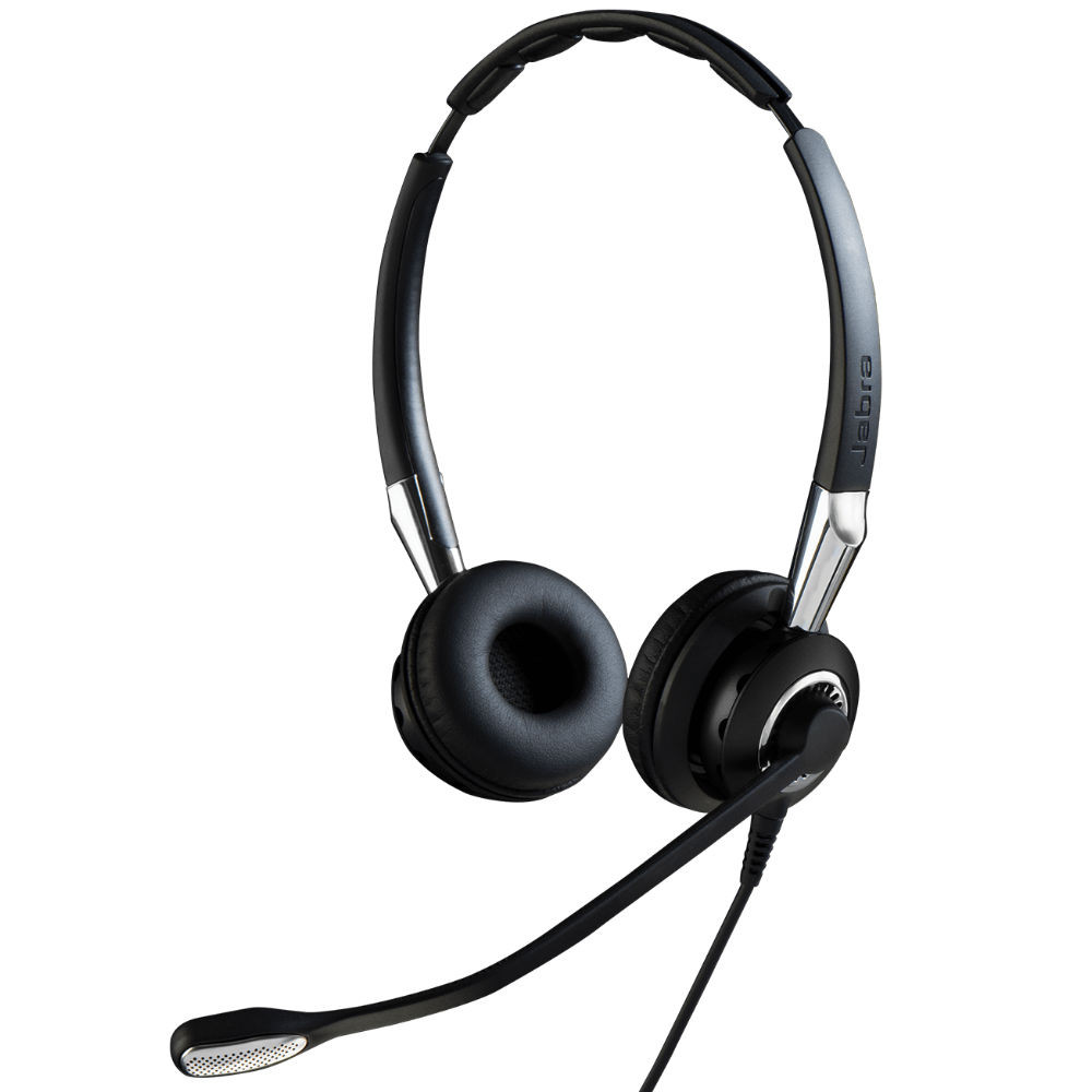 Jabra Biz 2400 II MS Duo Corded Headset, USB, BT