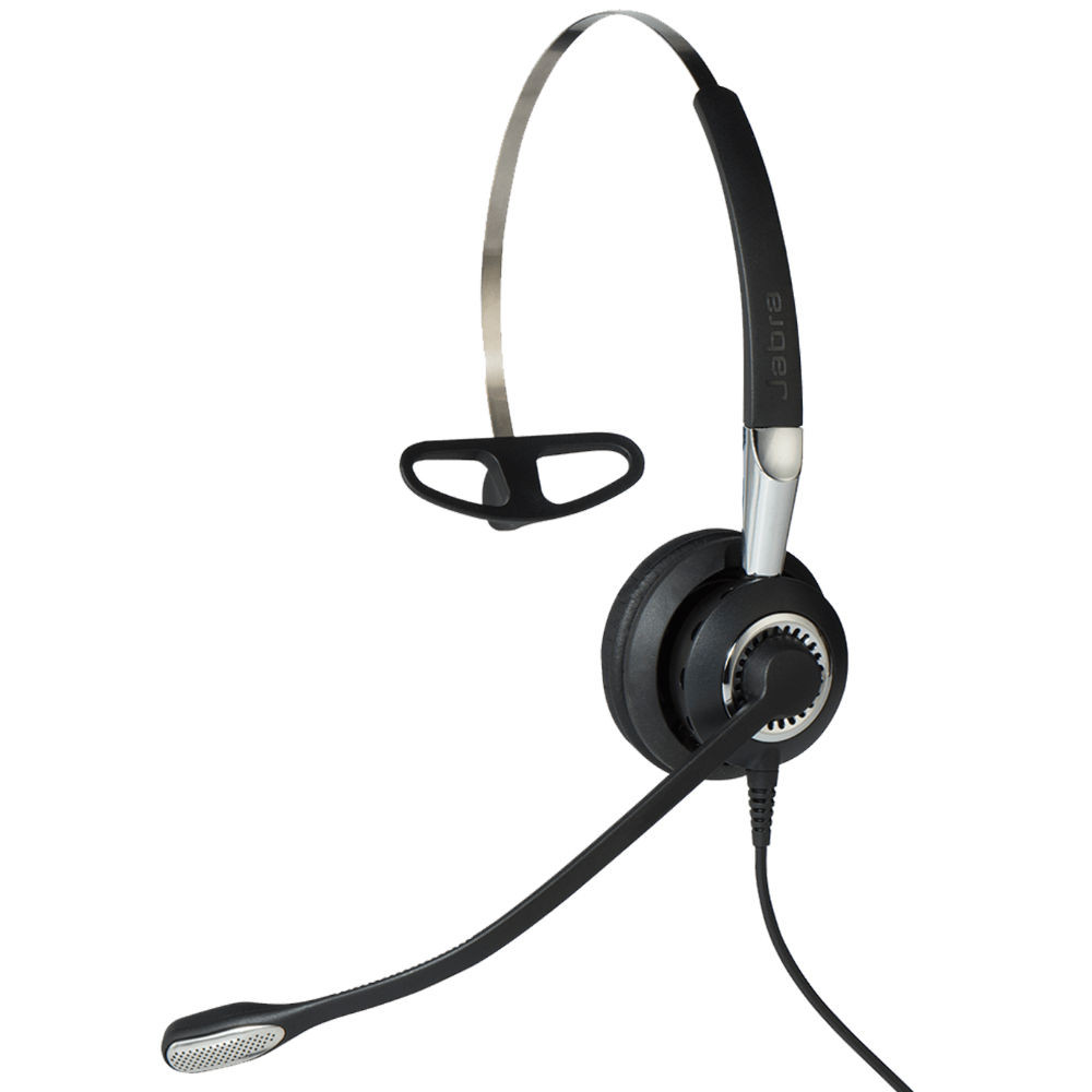 Jabra Biz 2400 II MS USB Mono BT 3-In-1 Wearing Style CC Headset
