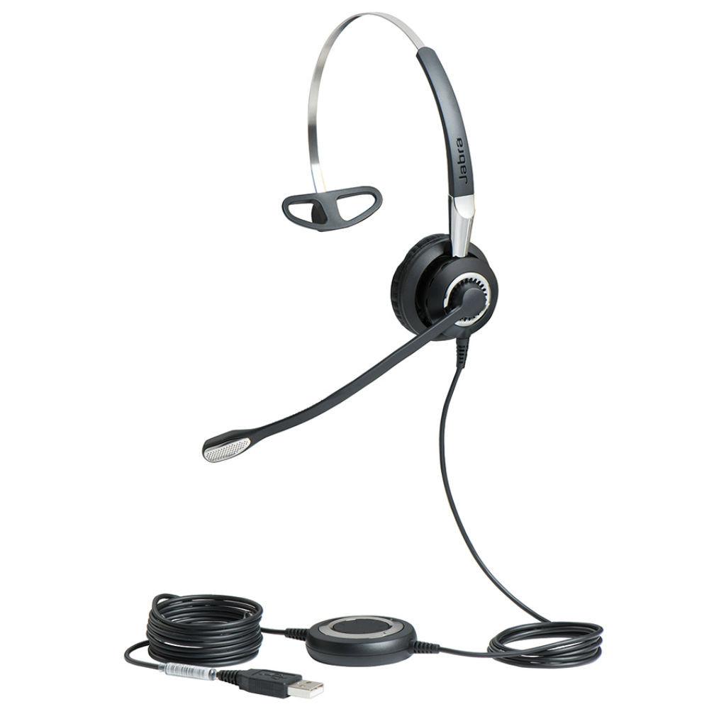 Jabra Biz 2400 II MS USB Mono BT 3-In-1 Wearing Style Office Headset