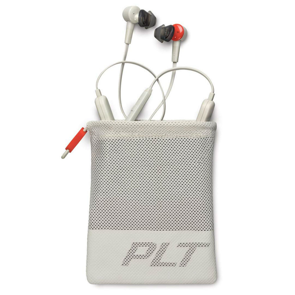 Plantronics BackBeat Go 410 Wireless Active Noise Cancelling Earbuds (Bone)