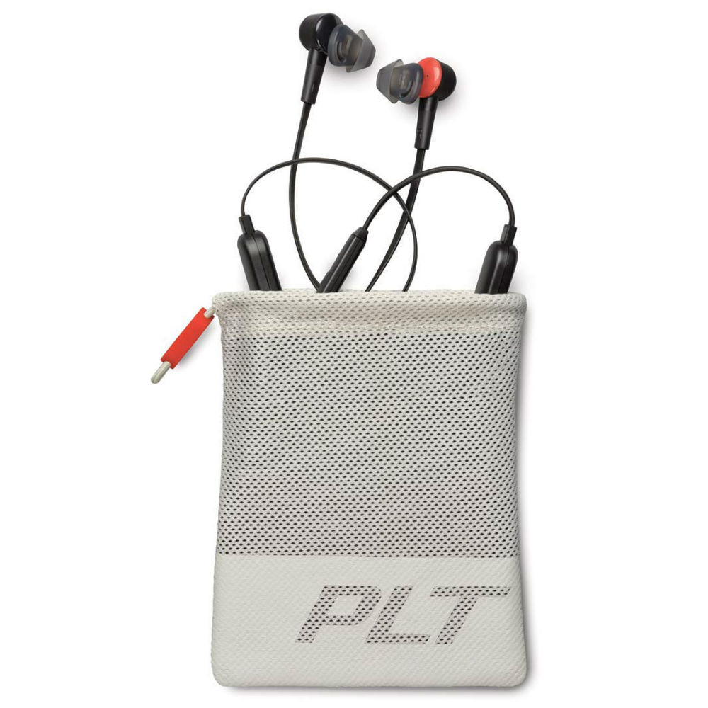 Plantronics BackBeat Go 410 Wireless Neckband In-Ear Earphones With Active Noise Cancellation (Graphite)