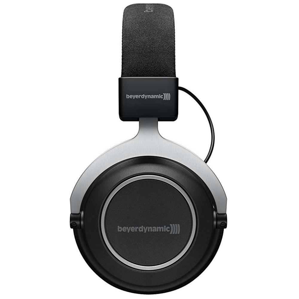 Beyerdynamic Amiron Wireless High-End Tesla Over-Ear Headphones, Closed-Back (Black)