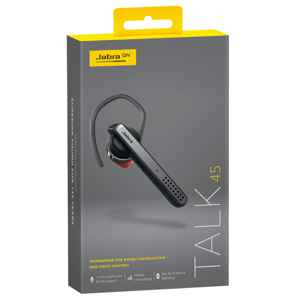 c8fc3d21bbe Jabra Singapore | Jabra Talk 45 Bluetooth Headset With Car Charger