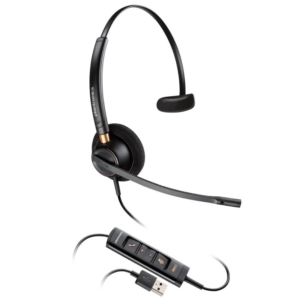 Plantronics EncorePro 515 USB, Mono, Noise Cancelling Headset, HW515 USB