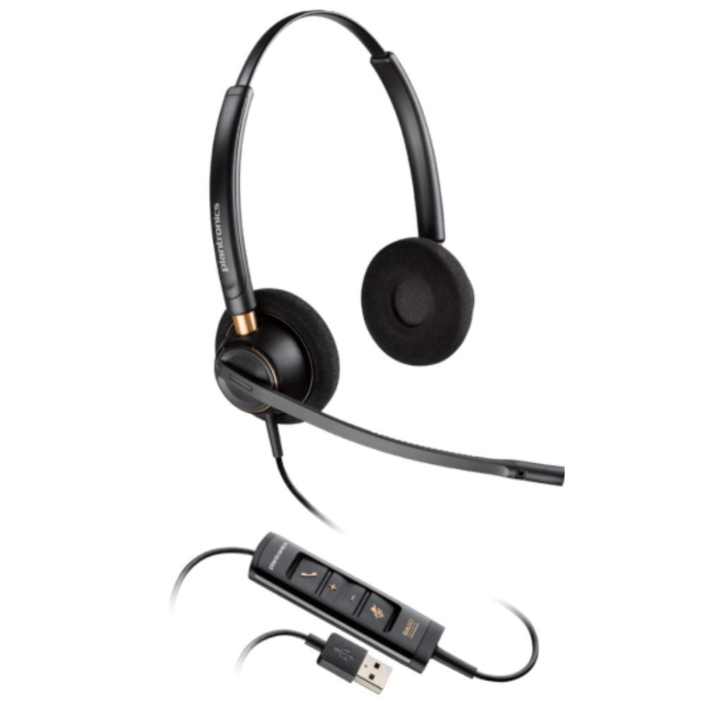 Plantronics EncorePro 525 USB, Stereo, Noise Canceling, HW525 USB