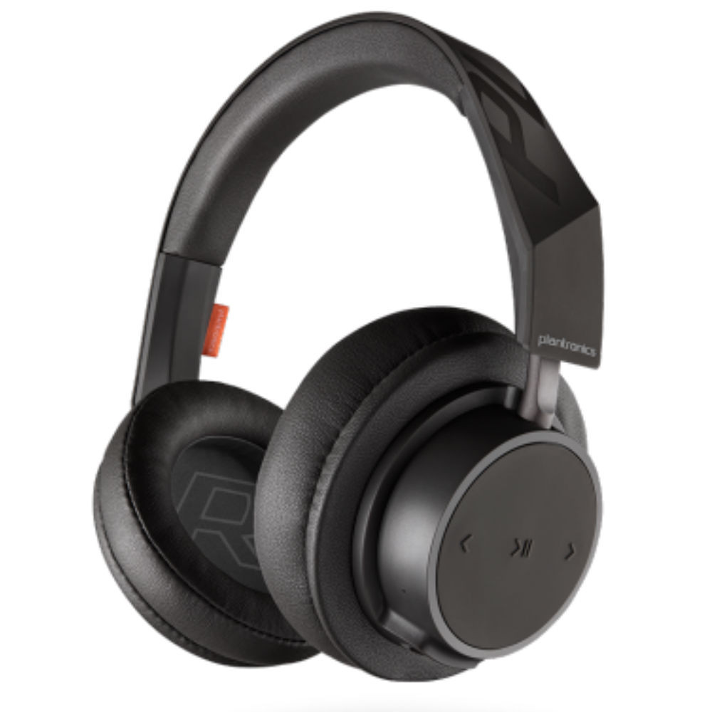 Plantronics BackBeat Go 605 Over-Ear Wireless Headphones (Black)