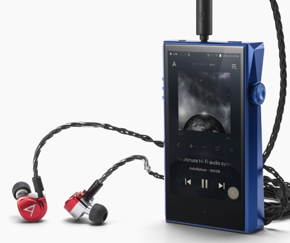 Astell & Kern Diana By Jerry Harvey Audio In-Ear Monitors (Red)
