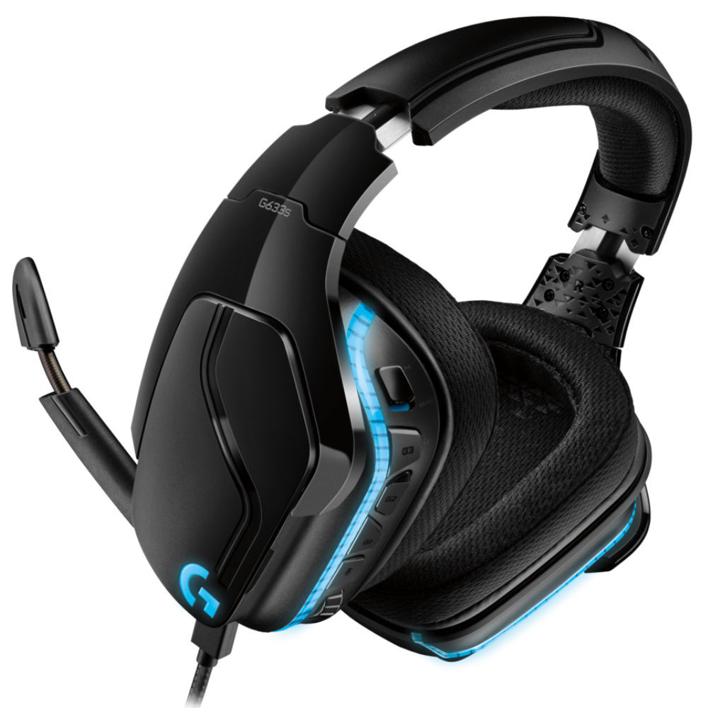 Logitech G633s 7.1 Surround Lightsync Gaming Headset