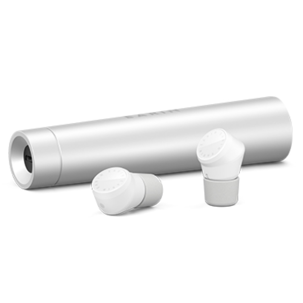 Earin M-2 True Wireless Earbuds With Charging Case (White)