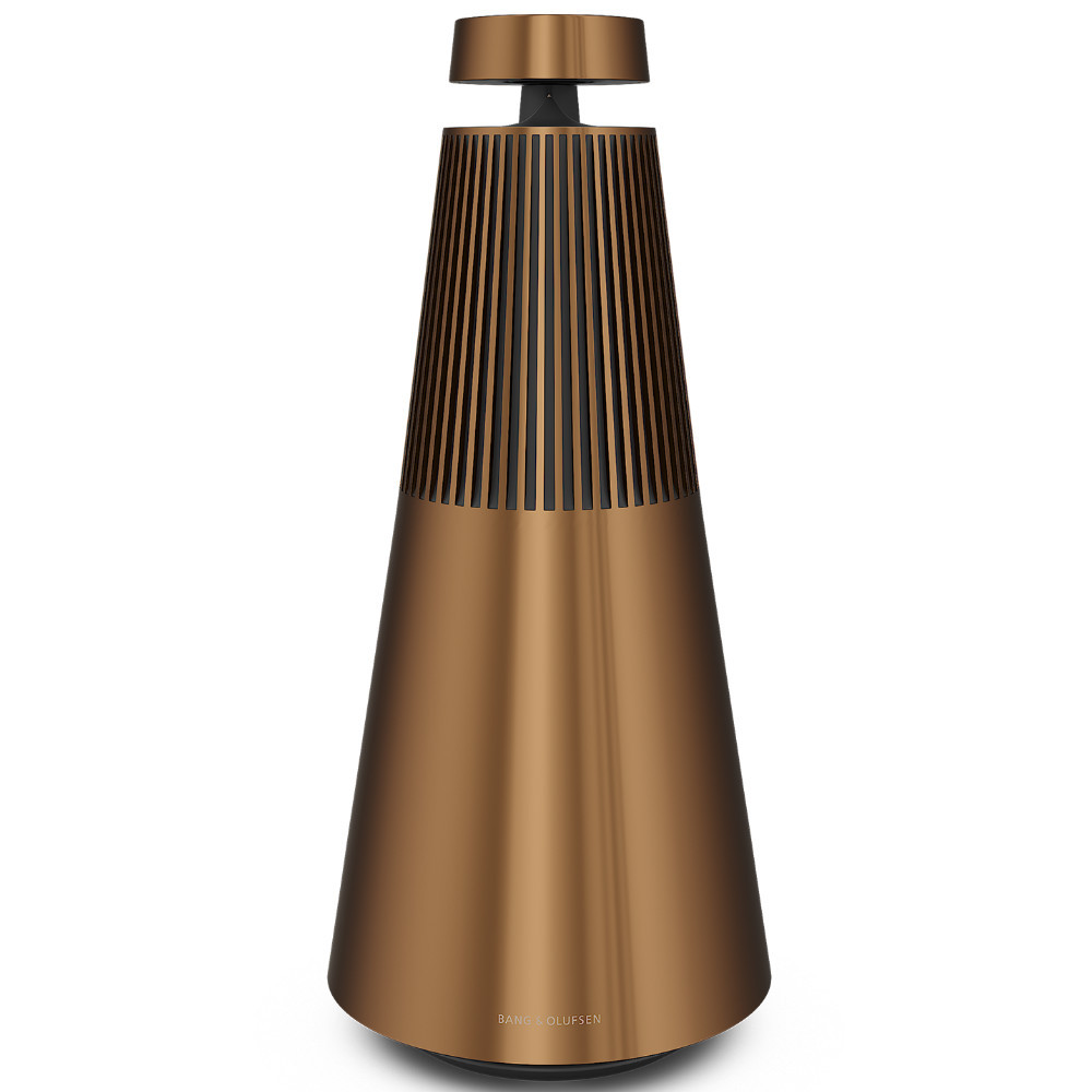 Bang & Olufsen BeoSound 2 Multi-room Wifi Speaker With Google Assistant (Bronze Tone)