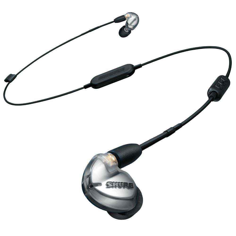 Shure SE425 Wireless Earphones + RMCE-BT2 Bluetooth Cable SE425-V+BT2-A (Silver)
