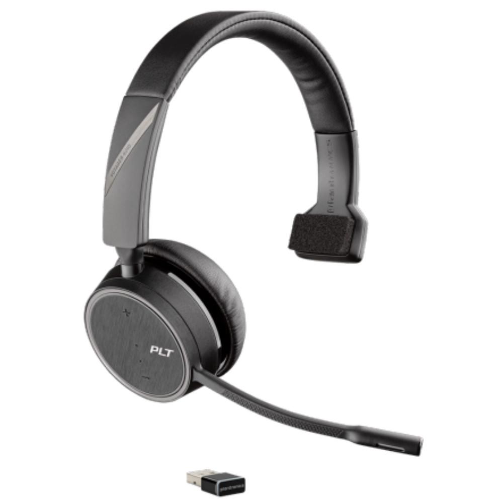 Plantronics Voyager 4210 UC Mono Bluetooth Office Headset USB-A (Black)