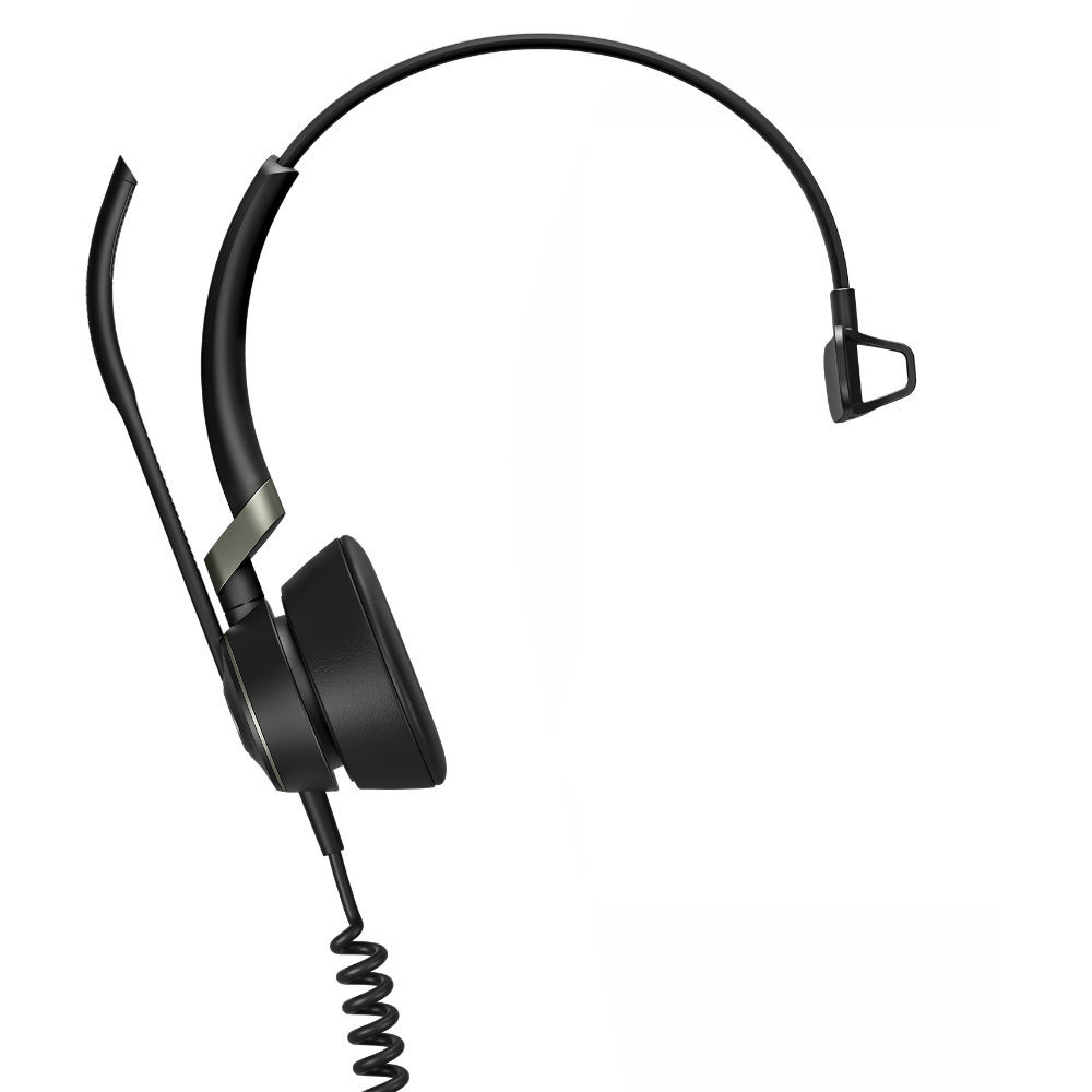 Jabra Engage 50 Mono Professional Digital Corded Headset, USB-C