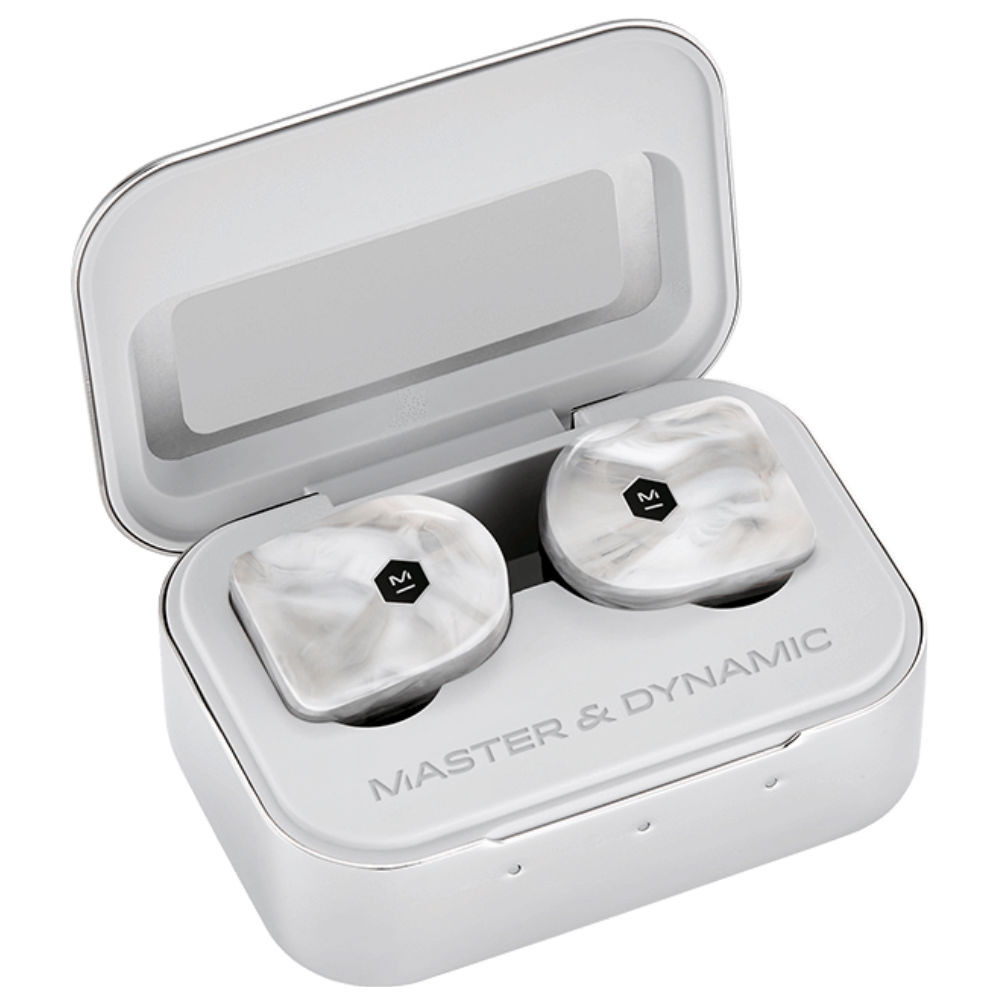 Master & Dynamic MW07 True Wireless Earphones (White Marble)