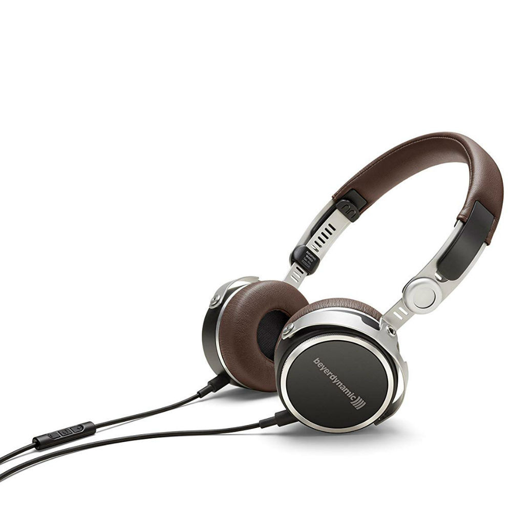 Beyerdynamic Aventho Wired Mobile Tesla High-End Headphones (Brown)