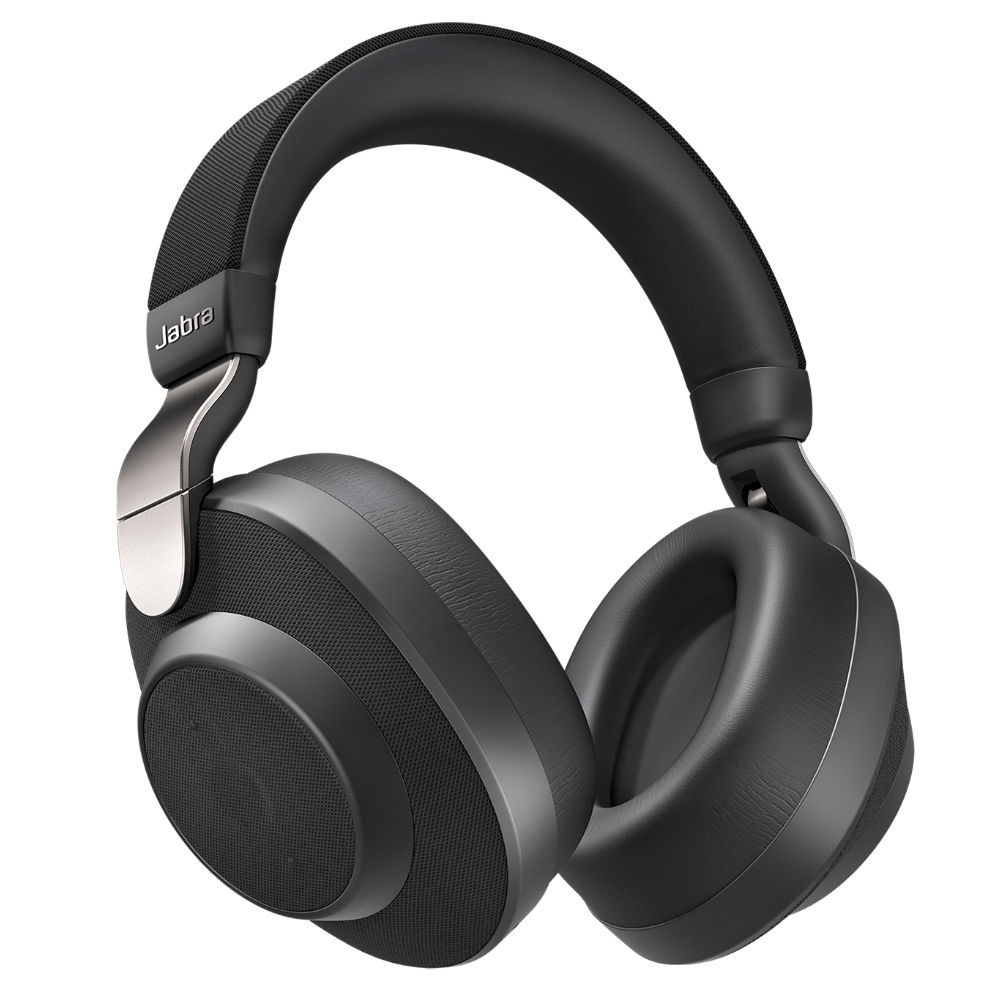 Jabra Elite 85h Wireless Noise Cancelling Headphones (Titanium Black)