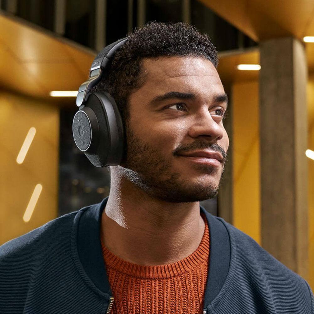 Jabra Elite 85h Wireless Noise Cancelling Headphones (Gold Beige)