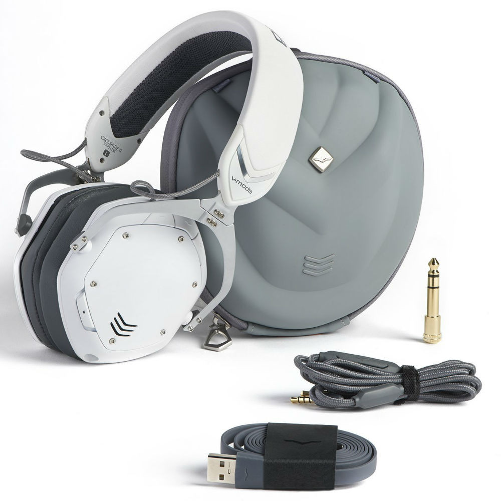 V-MODA Crossfade 2 Wireless Codex Edition Headphones (Matte White)