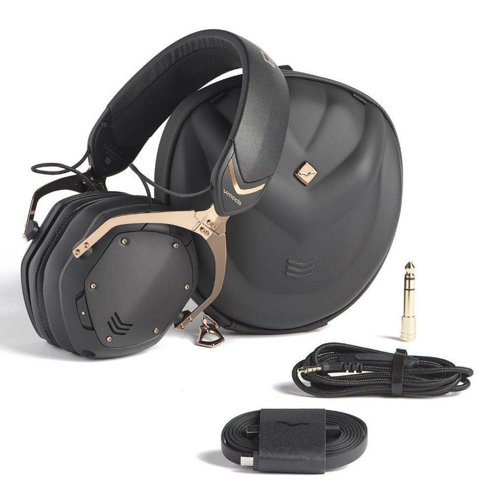 V-MODA Crossfade 2 Wireless Codex Edition Headphones (Rose Gold Black)