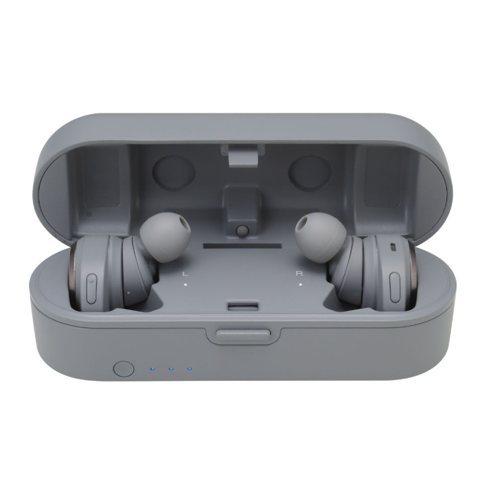 Audio-Technica ATH-CKR7TW SoundReality True Wireless In-Ear Headphones (Grey)