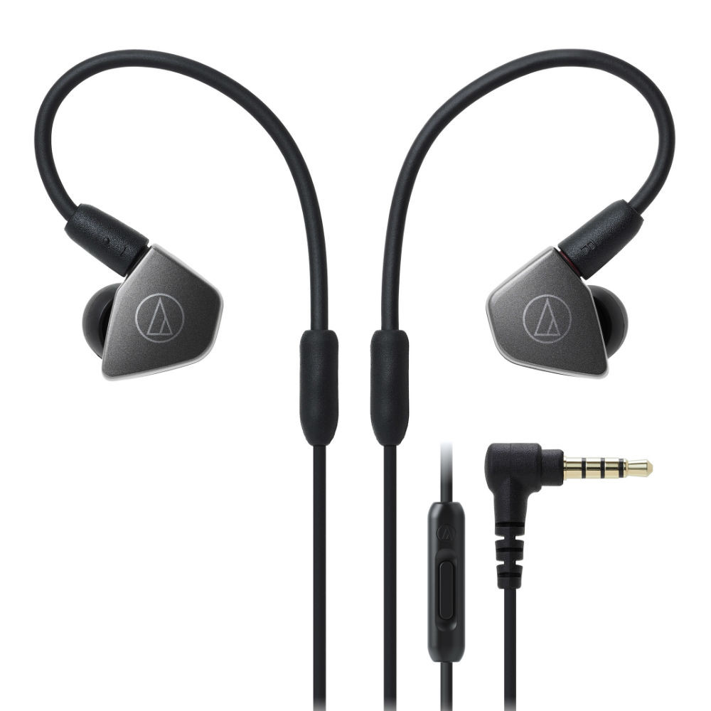 Audio-Technica ATH-LS70iS In-Ear Headphones With In-line Mic & Control