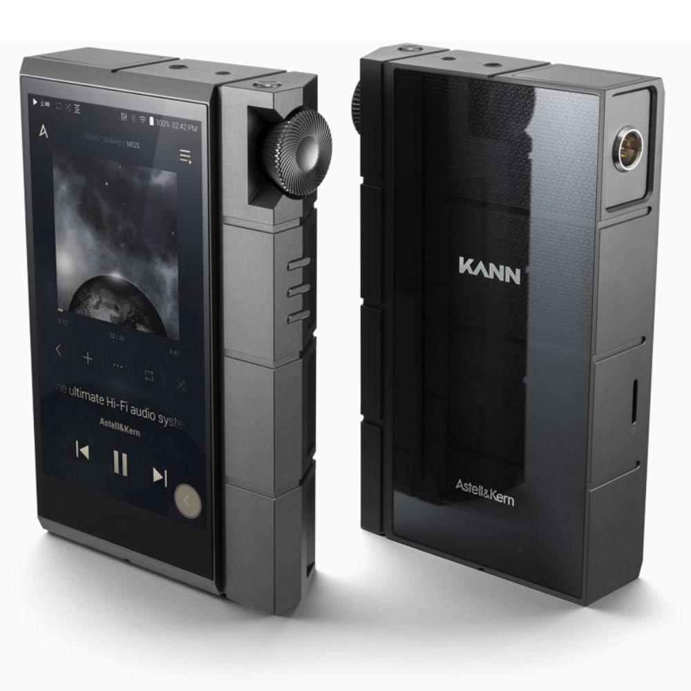 Astell & Kern KANN CUBE High-Resolution Digital Audio Player (Wolf Gray)