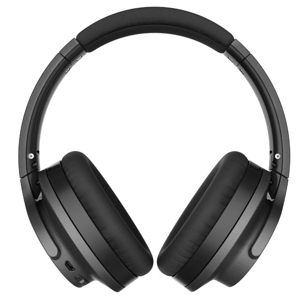 Audio-Technica ATH-ANC700BT QuietPoint Wireless Active Noise-Cancelling Headphones (Black)