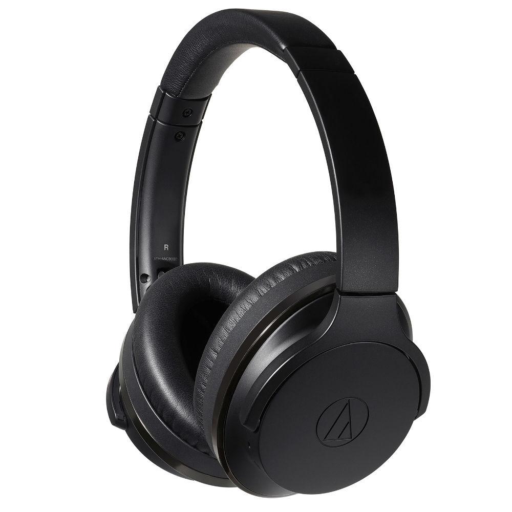 Audio-Technica ATH-ANC900BT QuietPoint Wireless Active Noise-Cancelling Headphones (Black)
