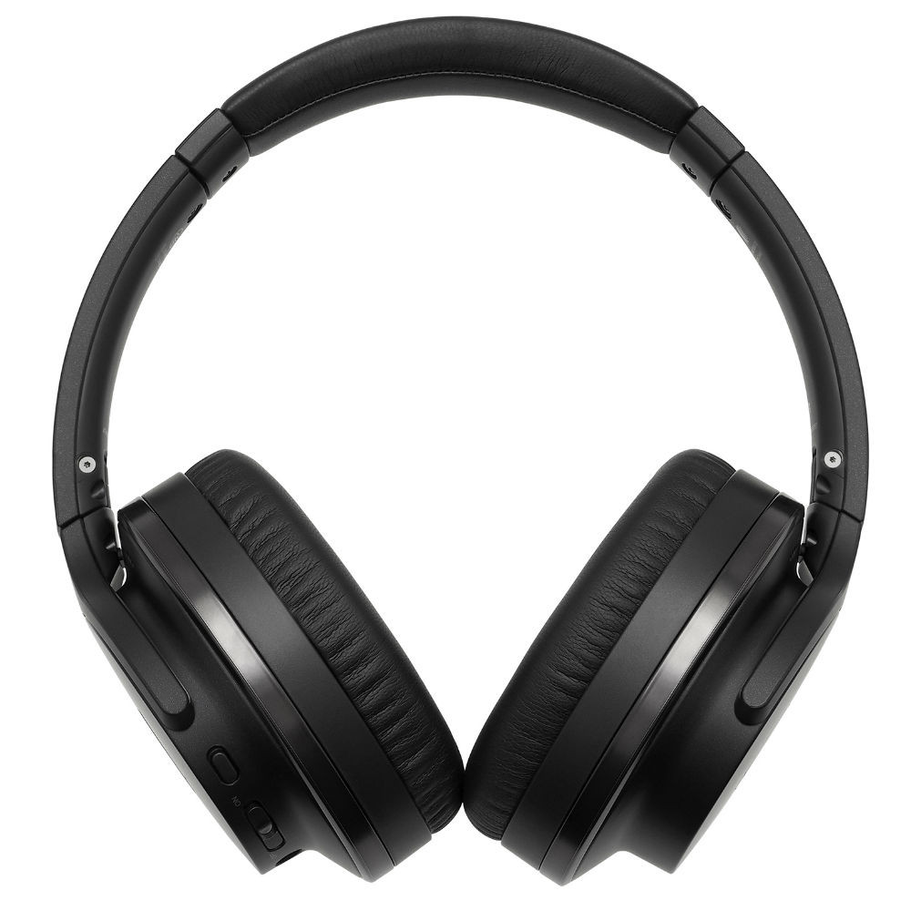 Audio-Technica ATH-ANC900BT QuietPoint Wireless Active Noise-Cancelling Headphones (Black)