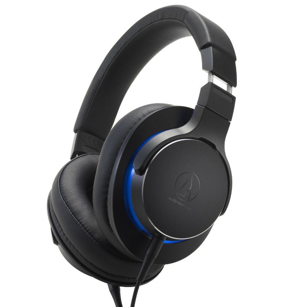 Audio-Technica ATH-MSR7B Over-Ear High-Resolution Headphones (Black)